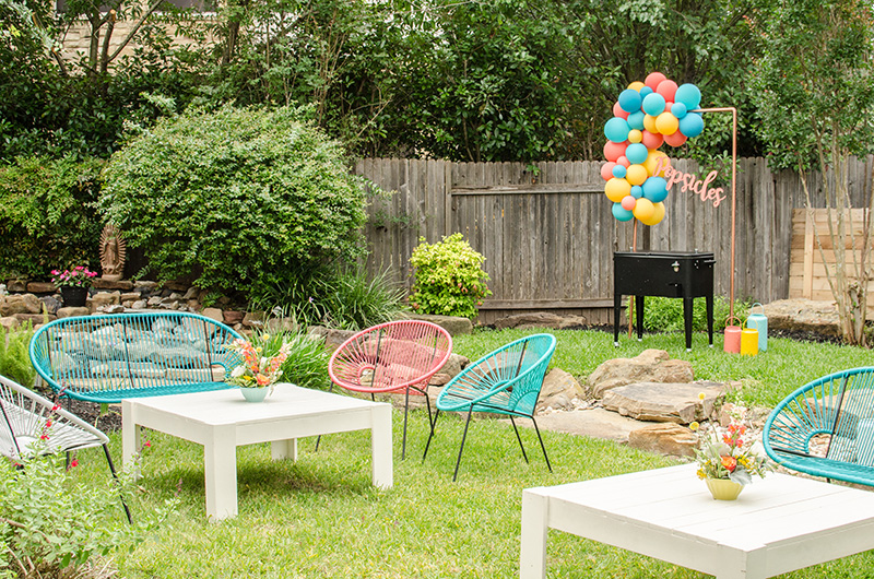5 Ways to Elevate Your Backyard Party | Party at the Moontower Event Rentals