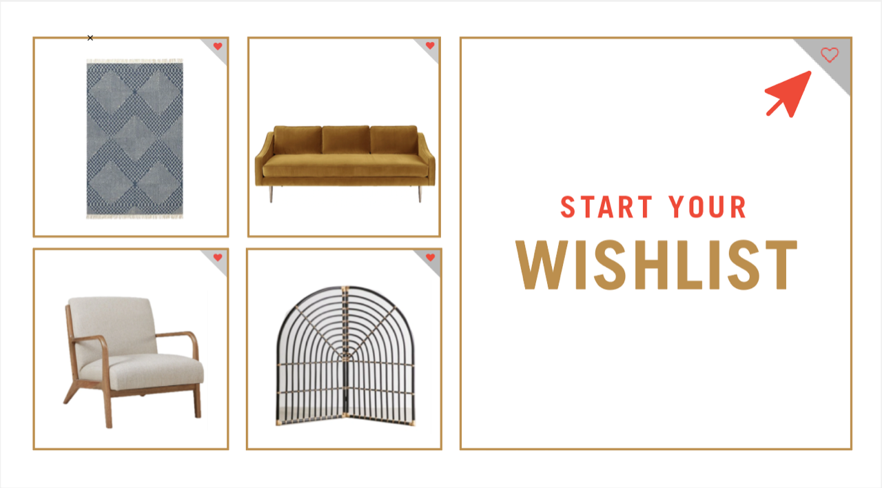 Start your wishlist